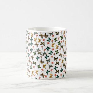 Schmetterlinge Kaffemugg