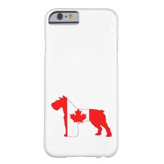 Schnauzer Kanada Barely There iPhone 6 Skal