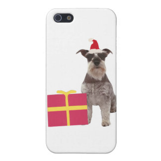 SchnauzerSanta hatt iPhone 5 Cover