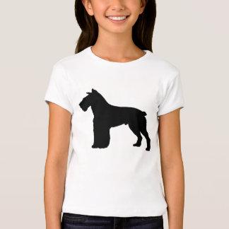 schnauzersilhouette t shirt