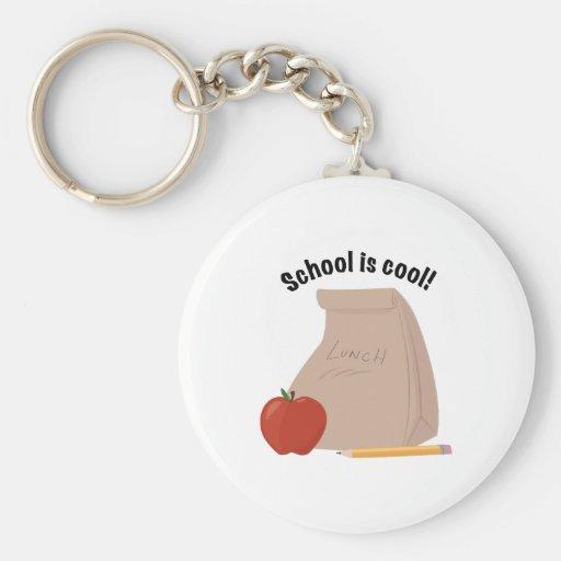 School är kall nyckelring