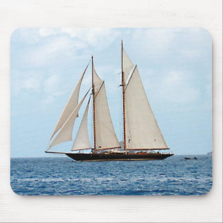 Schooner i Britishen Virgin Islands Musmatta