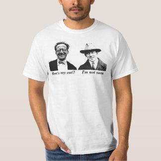 Schrodinger och Heisenberg T-shirt