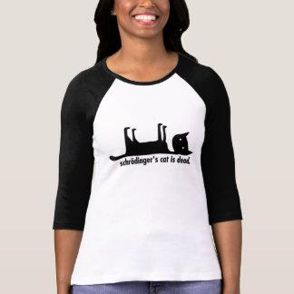 Schrödingers katt är död/vid liv tröjor