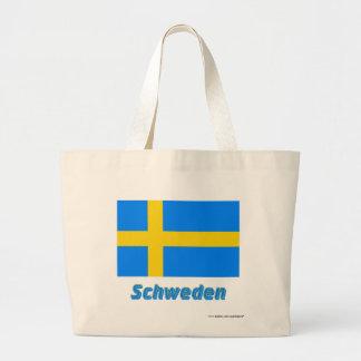 Schweden Flagge mit Namen Tygkasse