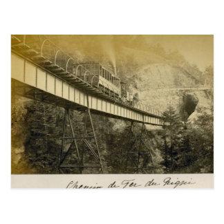 Schweitz 1908, Rigibahn, Vitznau Vykort