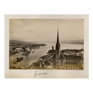 Schweitz 1908, Zurich Vykort