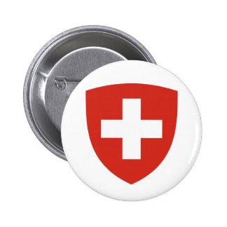 Schweizare skyddar standard knapp rund 5.7 cm