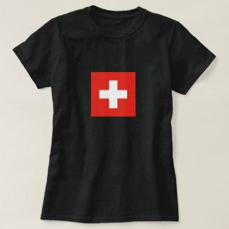 Schweizareflagga - flagga av Schweitz Tröja