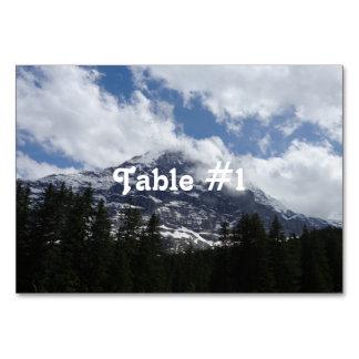 Schweizisk alperna bordsnummer