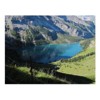Schweizisk alperna Schweizrer Berge Vykort
