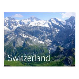 Schweizisk alperna vykort