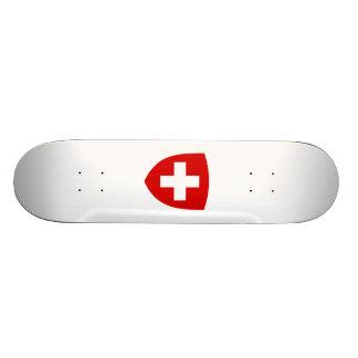 Schweizisk vapensköld - Schweitz souvenir Skate Decks