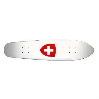 Schweizisk vapensköld - Schweitz souvenir Anpassad Skate Board