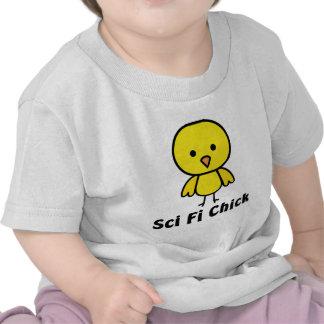 Sci Fi chick Tee Shirts