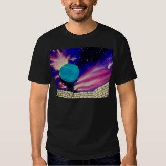Scifi för stjärnor för himmel för Neptune Tee Shirt