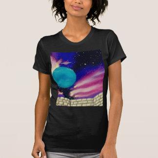 Scifi för stjärnor för himmel för Neptune utrymmeu Tee Shirt