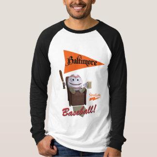 "Scolletta ""Baltimore baseball!"", Longsleeve Raglan Tee Shirts"