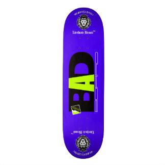 """Scolletta """"dåliga stiger ombord"""" BlackLight däck Mini Skateboard Bräda 18,7 Cm"""