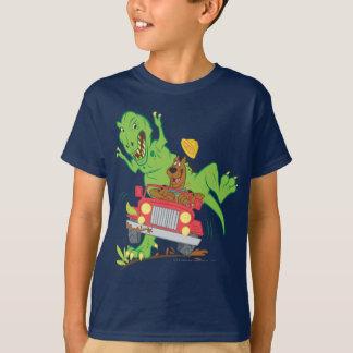 Scooby Doo Dinosaur Attack1 Tee Shirt