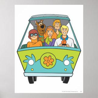 Scooby Doo poserar 71 Poster