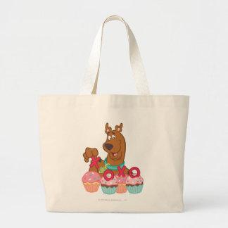 Scooby Doo - Scooby XOXO muffins Jumbo Tygkasse