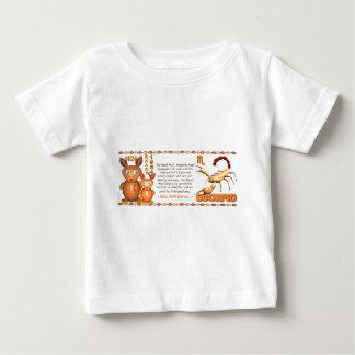 Scorpio 1984 för wood råtta för ValxArt Zodiac T-shirt
