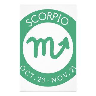 Scorpio Brevpapper