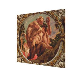 Scorpio från teckenet av zodiacen canvastryck