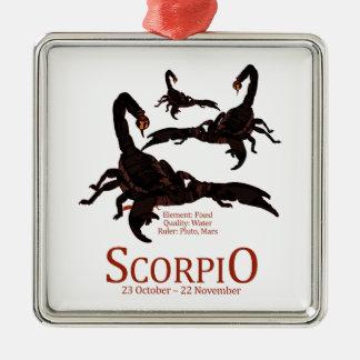 Scorpio Julgransprydnad Metall