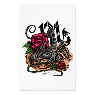 Scorpio - Zodiac Brevpapper