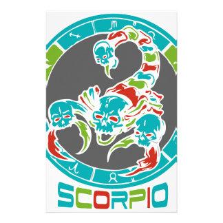 Scorpioastrologi Brevpapper