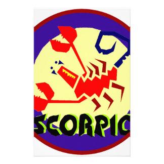 Scorpioemblem Brevpapper