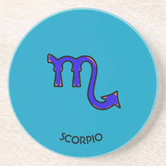 Scorpiosymbol Underlägg Sandsten