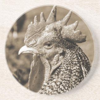 Scots Sepia för vintage för grå färgtupp   Underlägg