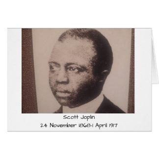 Scott Joplin Hälsningskort