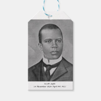Scott Joplin Presentetikett