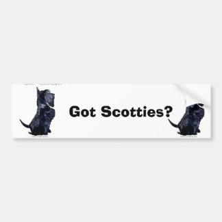 Scottie - harkakor? bildekal