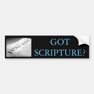 SCRIPTURE BILDEKAL