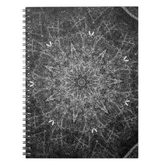 Scuffed kol anteckningsbok med spiral