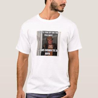 Scumbag klipper dig av på den motorvägMeme T-tröja T Shirts