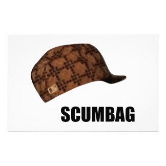 Scumbag Steve hatt Meme Brevpapper