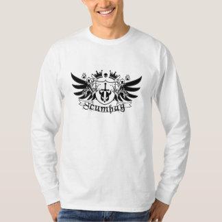 Scumbag vapensköld t-shirts