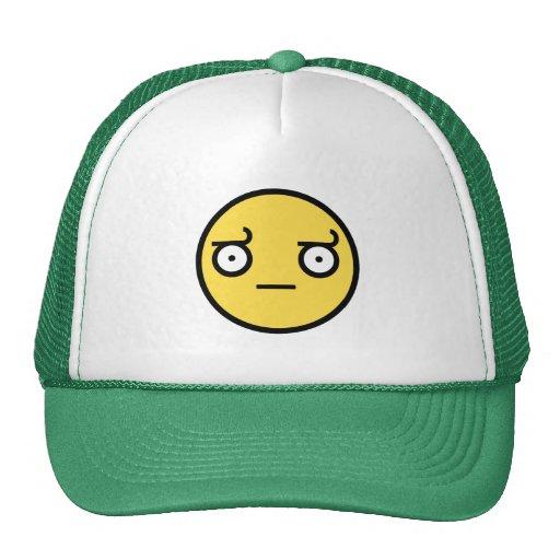 Se av ogillandesmiley face baseball hat