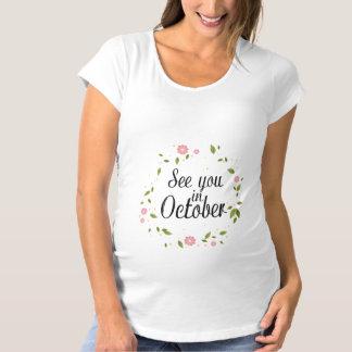 Se dig i Oktober T-shirt