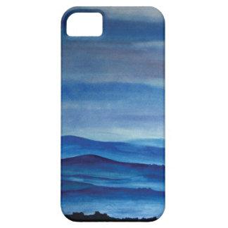 SE för iPhone för blåttbergkonst + fodral för iPhone 5 Case-Mate Fodraler