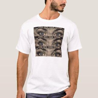 Se in i din framtid tee shirt