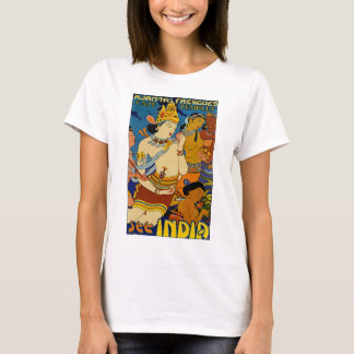 Se Indien ~-Ajanta Frescoes Tee Shirt