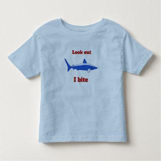 Se mig biter ut småbarnskjortan t-shirt