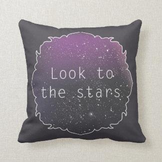 Se till stjärnorna kudder kudde